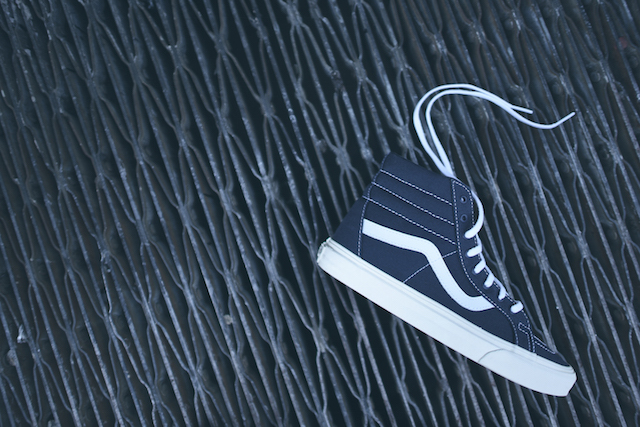 Vans SK8-Hi Reissue 10 Oz Canvas Dress Blues