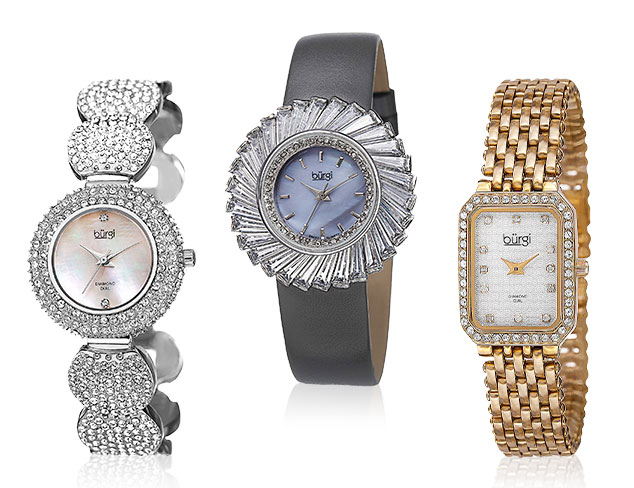 All That Glitters: Burgi Watches at MYHABIT