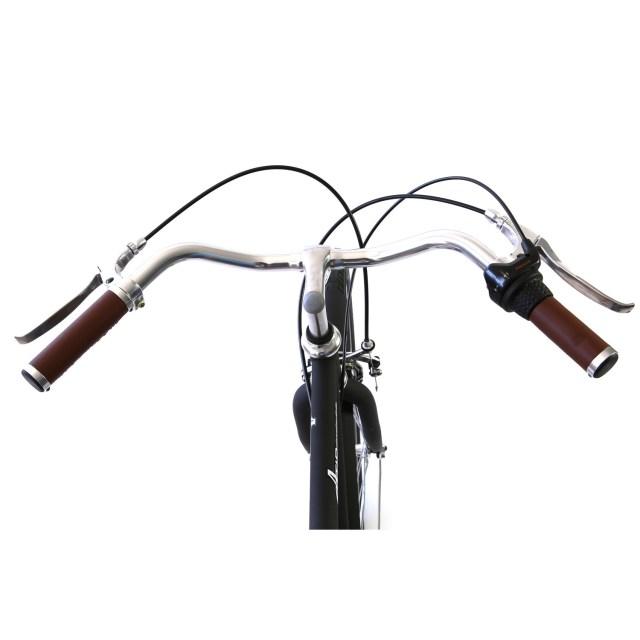 Atir Cycles // 3 Speed City Bike // Matte Black