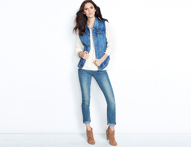 Blue Streak: Denim, Tops & More at MYHABIT