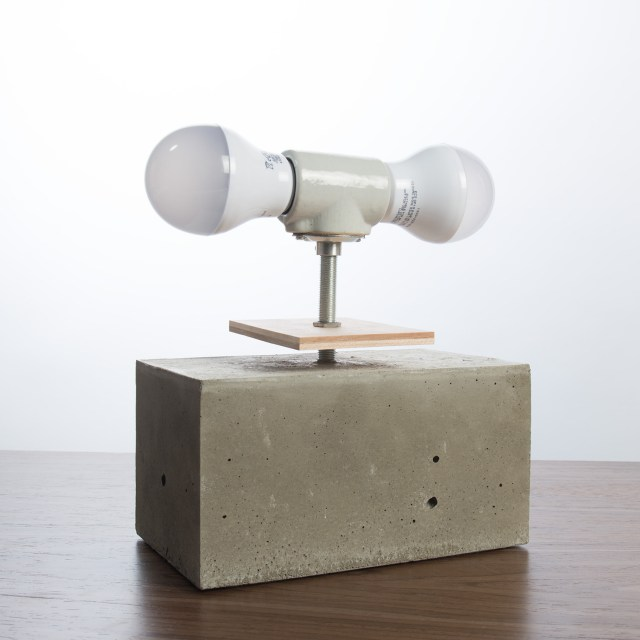 Your Nest Inspired Concrete Table Lamp