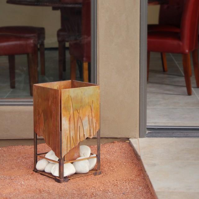 Terra Flame Elements Fire Lantern