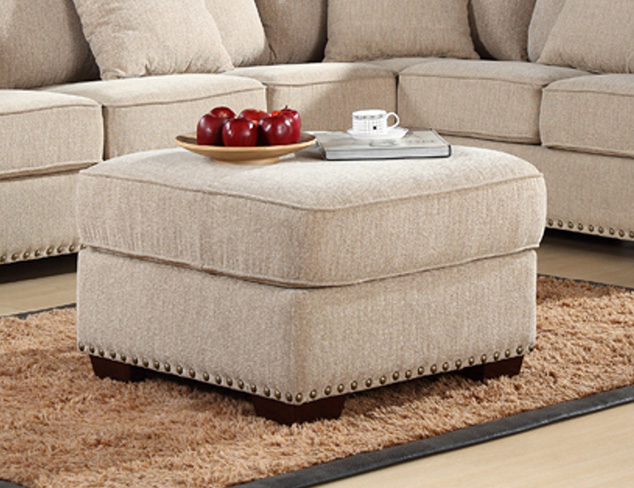 Extra Seating: Ottomans, Benches & More at MYHABIT