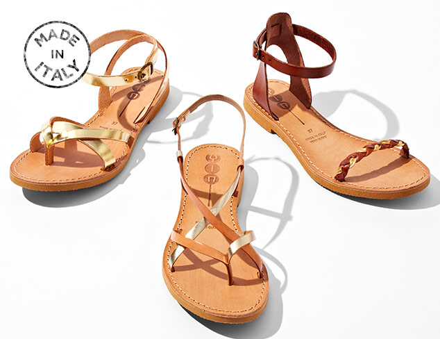Made in Italy: Sandals at MYHABIT