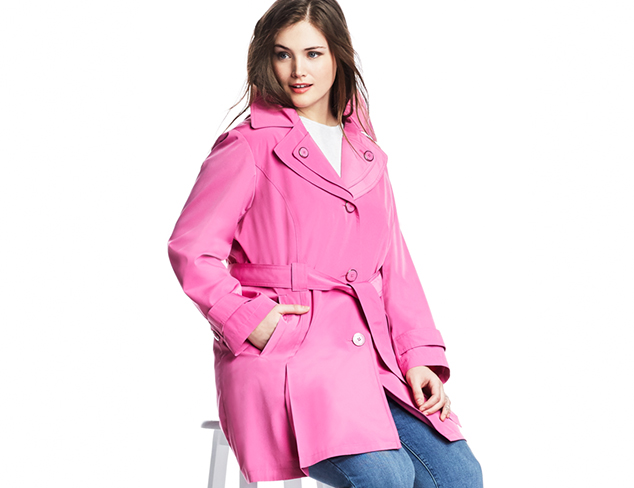 Plus Size: Spring Coats at MYHABIT