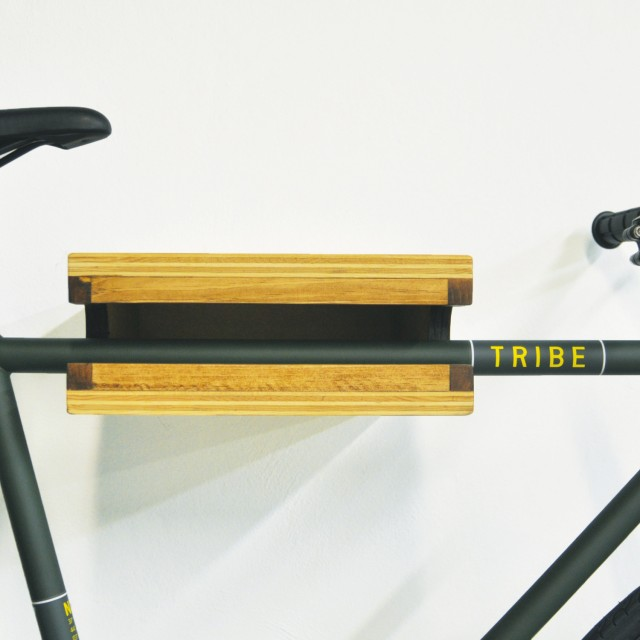 BLKWD Inc. x Tribe Bicycle Co. Red Hook Shelf