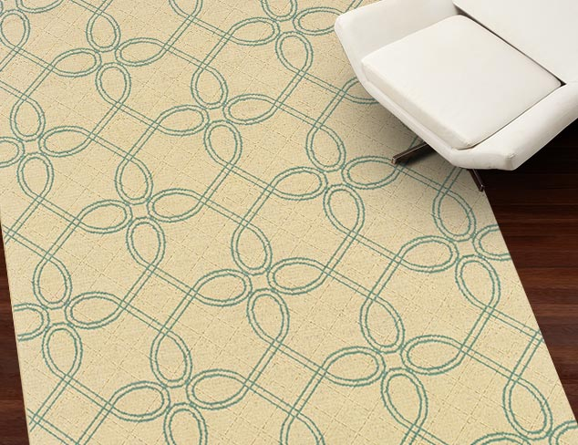 Rich Patterns from Granville Rugs at MYHABIT
