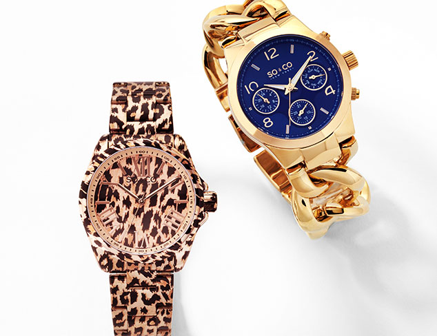 SO & CO Watches at MYHABIT