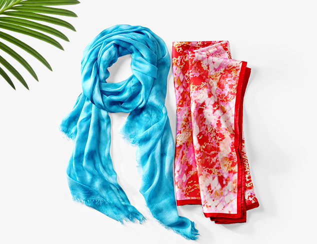 Scarves from Elie Tahari & More at MYHABIT