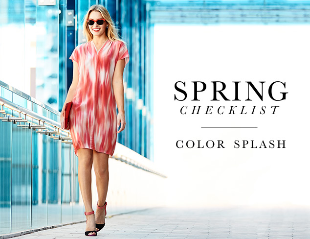 Spring Checklist: A Splash of Color at MYHABIT