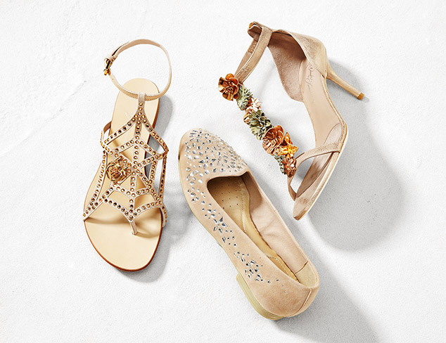 Spring Checklist: The Embellished Shoe at MYHABIT