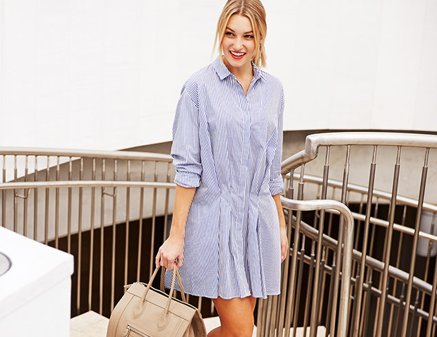 Spring Checklist: The Shirtdress at MYHABIT