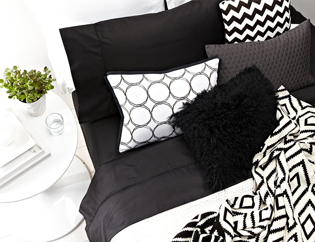 The Black & White Bedroom at MYHABIT