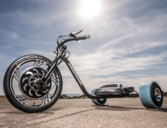 Local Motors Verrado Electric Drift Trike