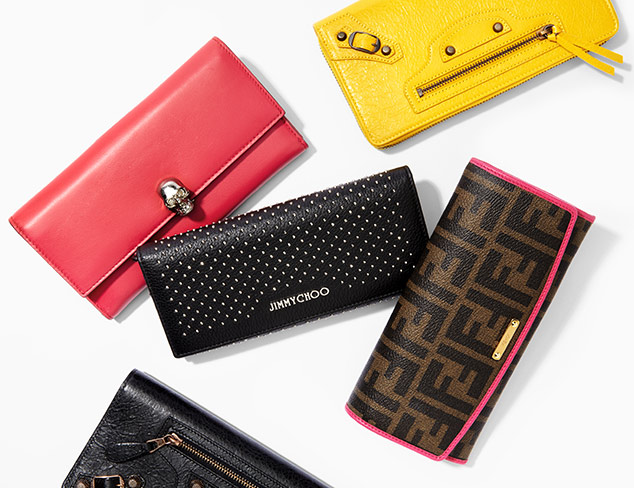Wallets feat. Jimmy Choo at MYHABIT