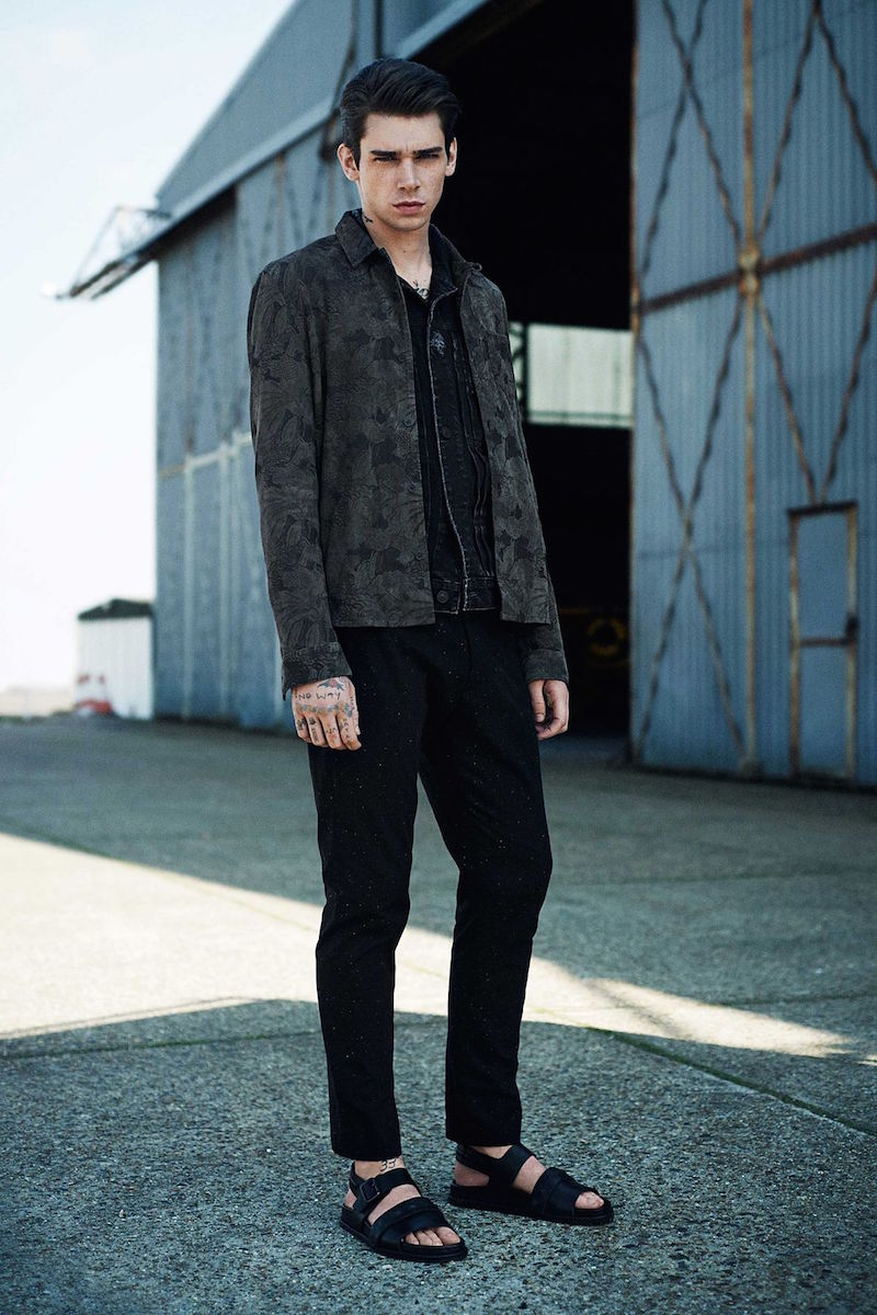 AllSaints Hisako Denim Jacket