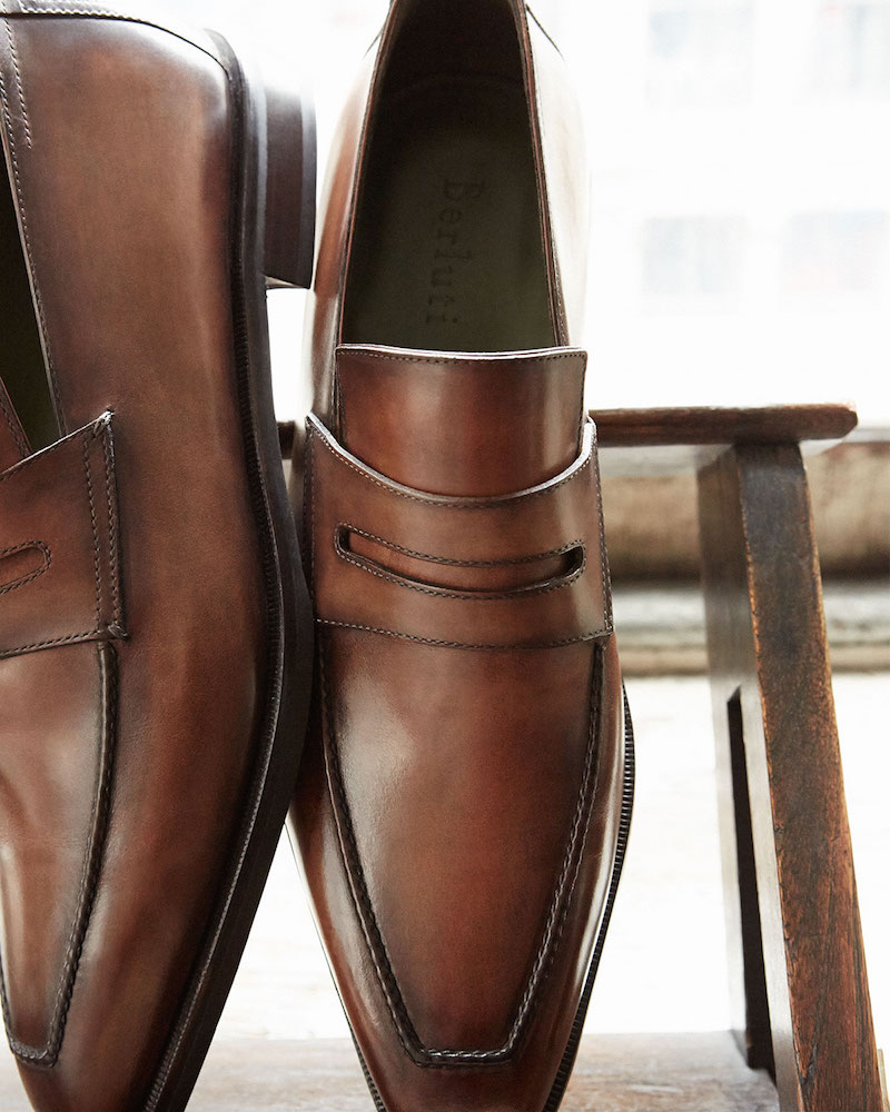 Berluti Andy Leather Penny Loafer