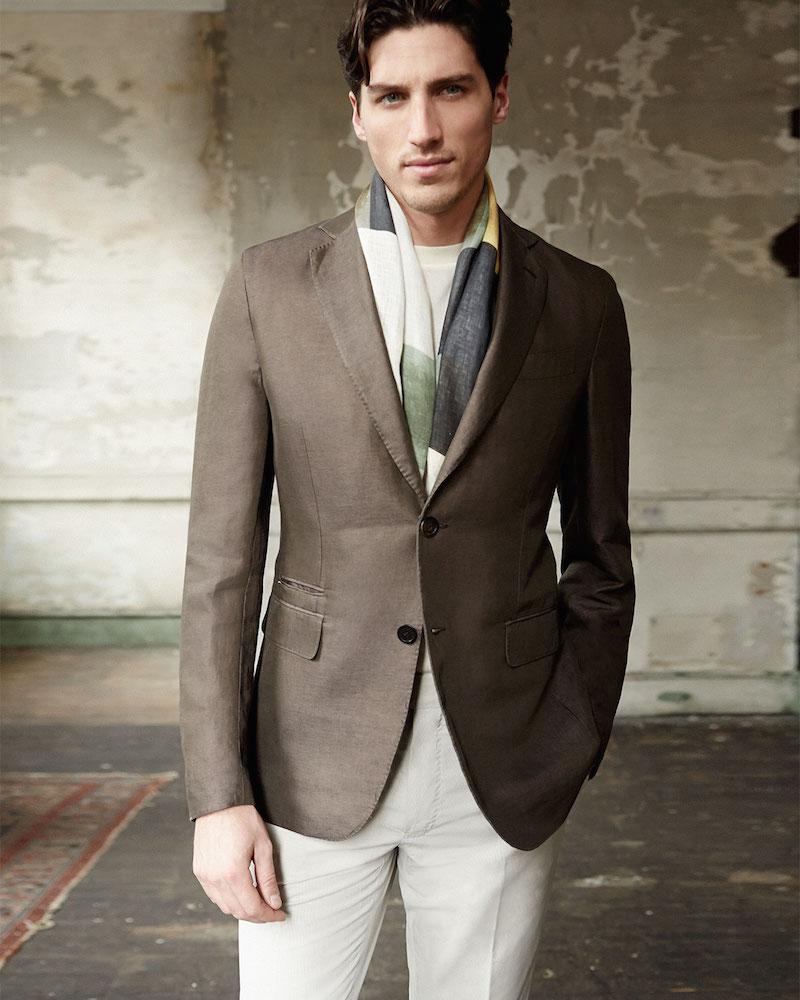 Berluti Deconstructed Soft Jacket