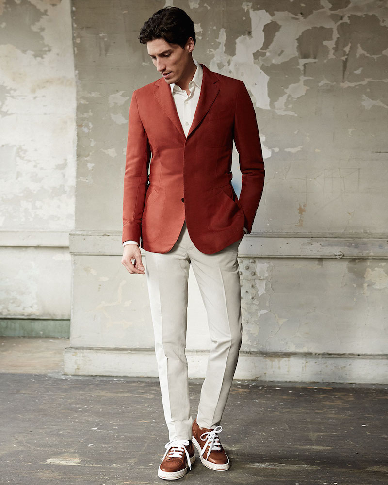 Berluti Linen-Blend Safari Jacket