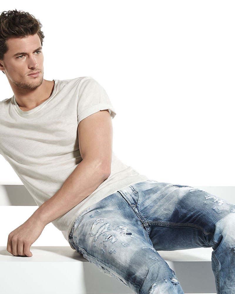 Diesel Thavar 840S DNA Distressed Jeans