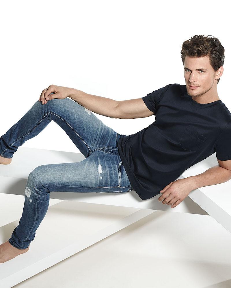 J Brand Jeans Mick Destructed Stretch Denim Jeans