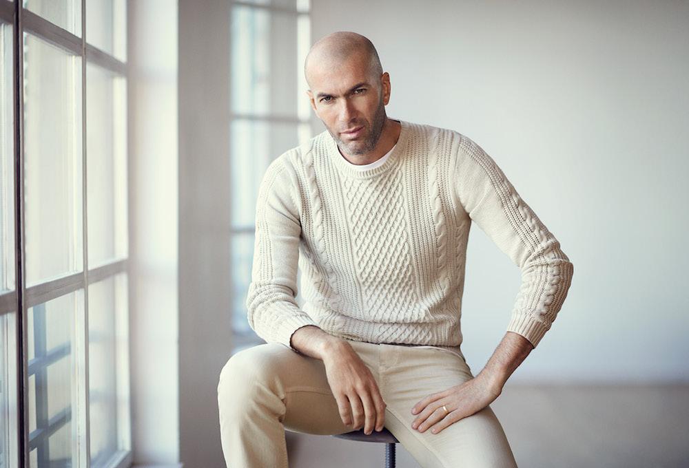 Zidane for MANGO Man Spring/Summer 2015