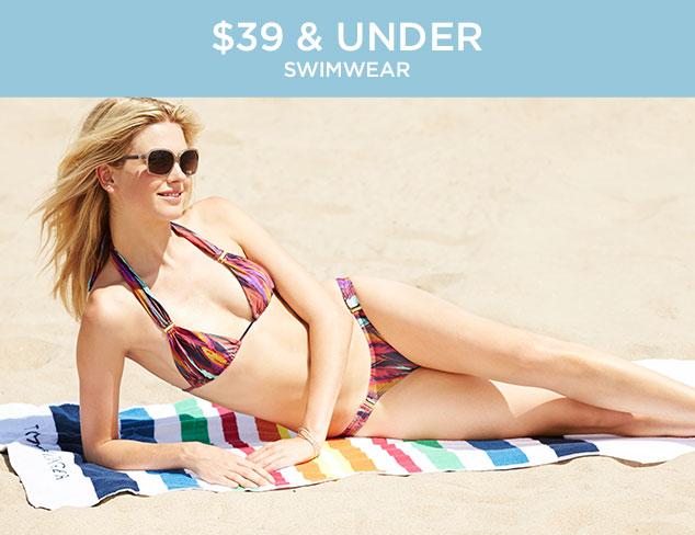 $39 & Under: Swimwear at MYHABIT