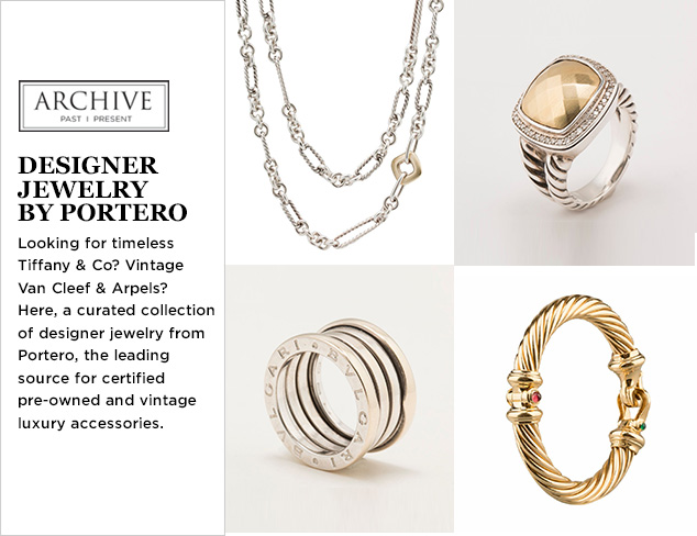 ARCHIVE: Designer Jewelry by Portero at MYHABIT