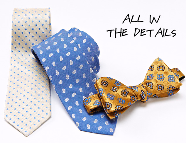 Bruno Piattelli Slim Ties & Bowties at MYHABIT