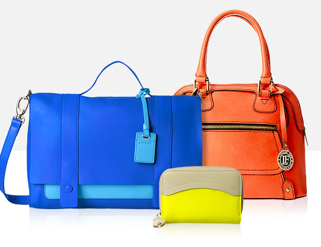 Color Statement: Bright Bags at MYHABIT