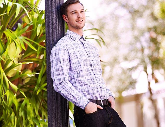 Crisp Cuts: Button Up Shirts at MYHABIT