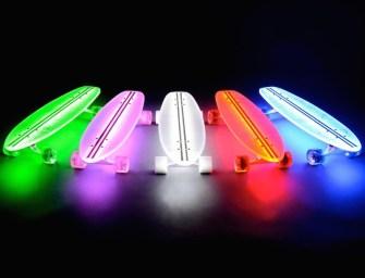 FlexDex Clear29 LT LED Lighted Skateboard