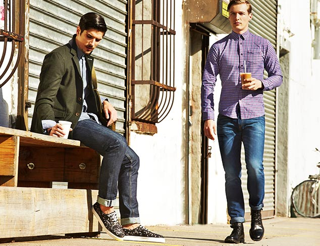 How to Wear Denim: Downtown Cool at MYHABIT