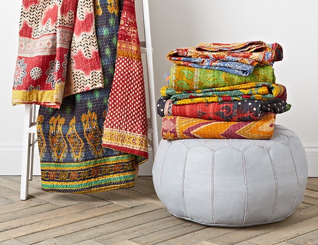 Kantha Quilts at MYHABIT