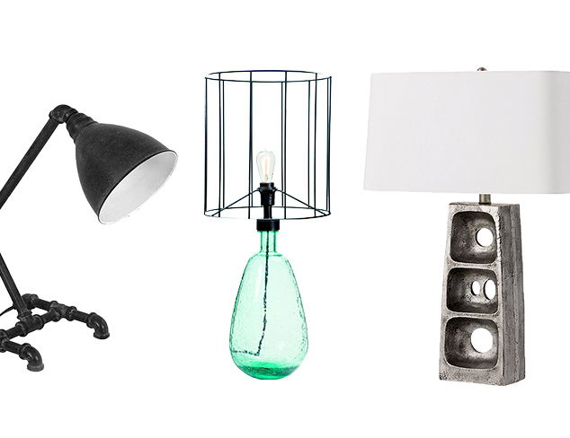 Lighting Expressions: Unique Table Lamps at MYHABIT