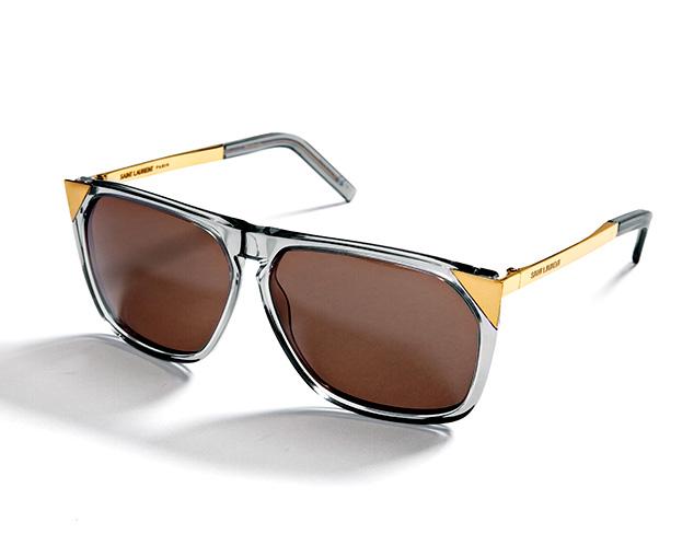 Saint Laurent Metal-Tipped Sunglasses