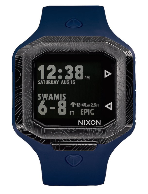 Nixon Ultratide Smart Surf Watch Powered by Surfline_3