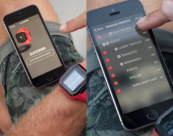 Nixon Ultratide Smart Surf Watch Powered by Surfline_9