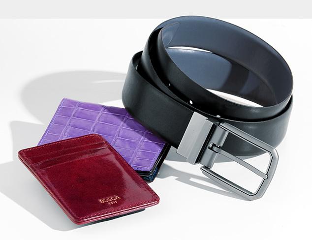 Office Style: Belts & Wallets at MYHABIT
