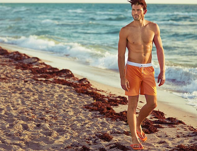 Spring Break Ready: Tees & Swim Trunks at MYHABIT