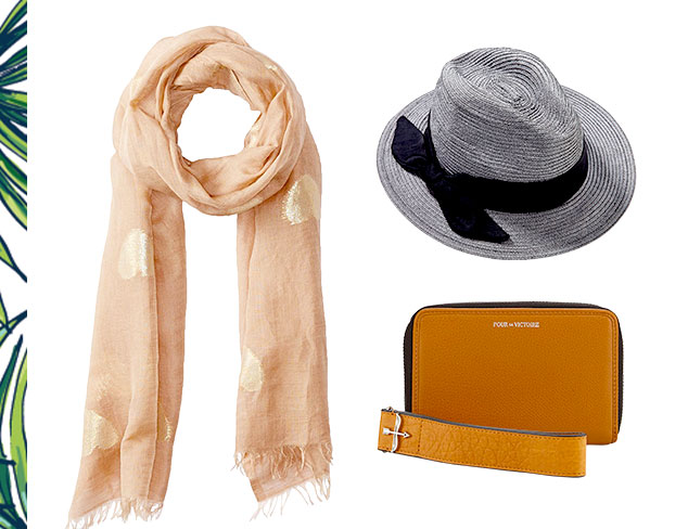 Spring Neutrals: Scarves, Hats & More at MYHABIT