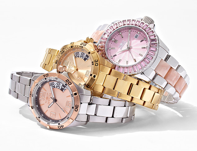 Up To 90% Off Invicta Watches for Her at MYHABIT