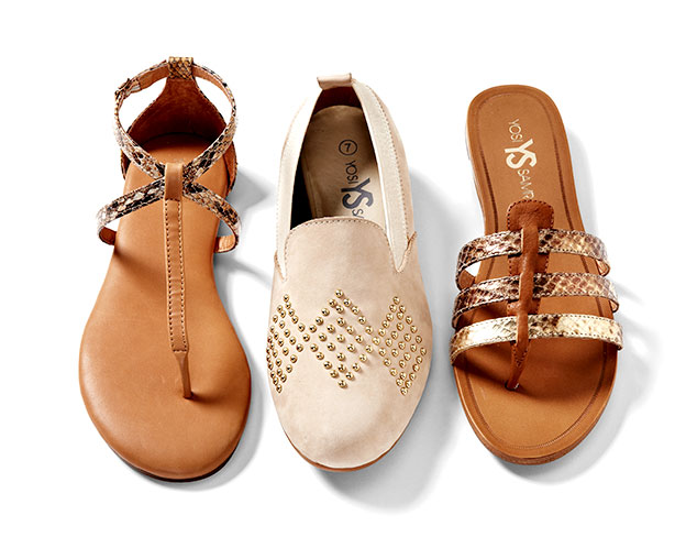 Yosi Samra: Sandals & Flats at MYHABIT