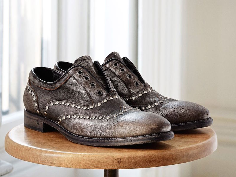 John Varvatos Fleetwood Studded Wingtip