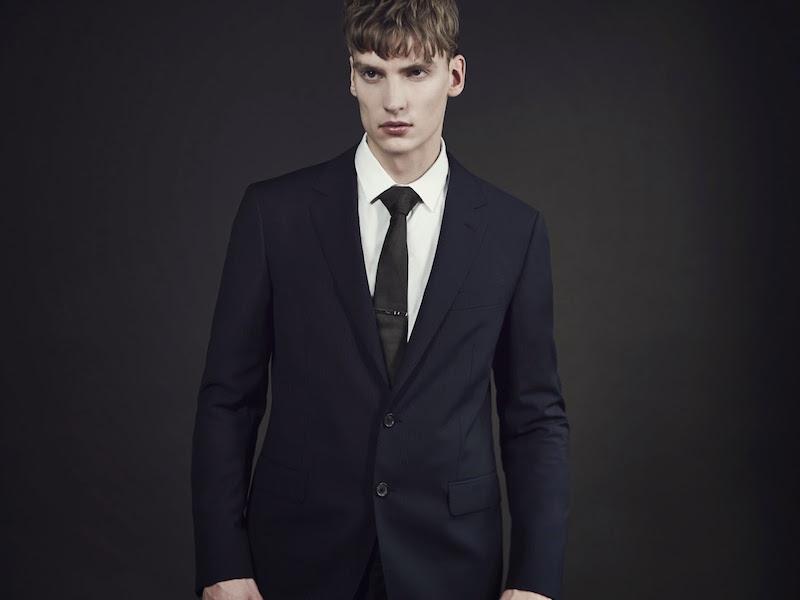 Lanvin Attitude Two-button Pinstripe Suit
