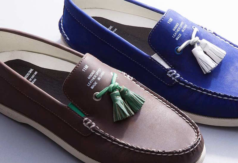 Sperry Top-Sider by Band of Outsiders A/O Tassel Boat Shoes