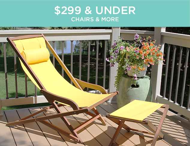 $299 & Under Lounge Chairs & More at MYHABIT