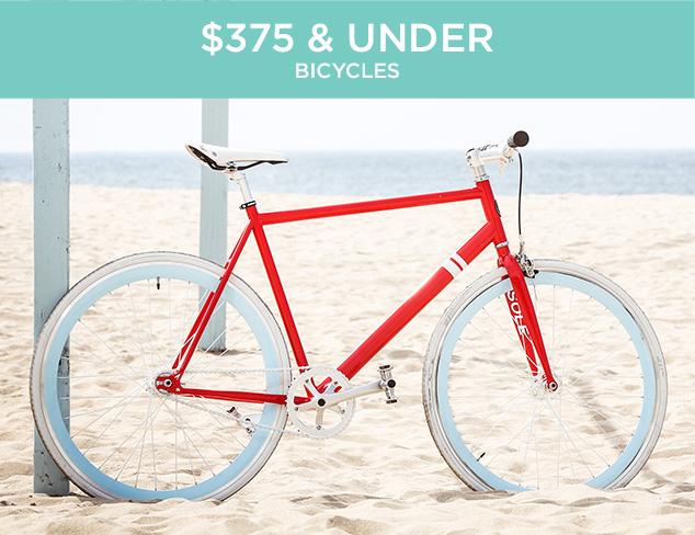 $375 & Under Bicycles at MYHABIT