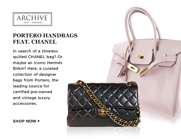 ARCHIVE Portero Luxury Handbags feat. CHANEL at MYHABIT