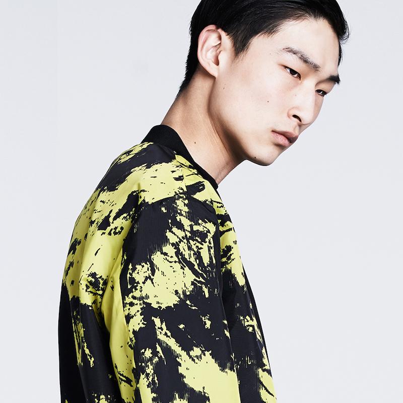 Alexander Wang Reversible Graphic-print Bomber Jacket